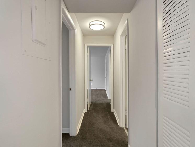 Hallway closets