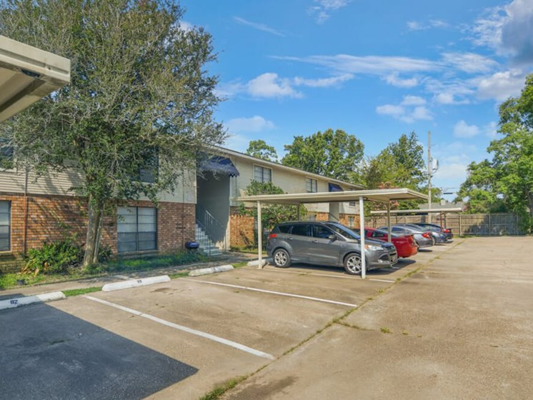 Dove Creek apartments with covered parking