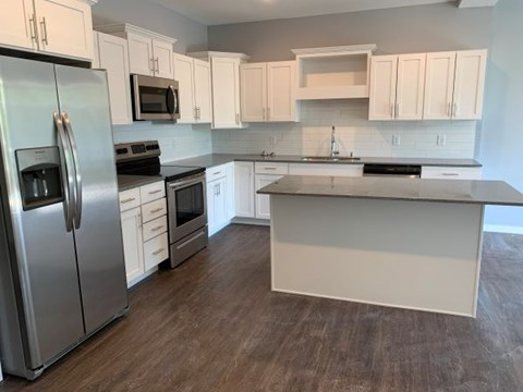 Upgraded 1 bedroom kitchen