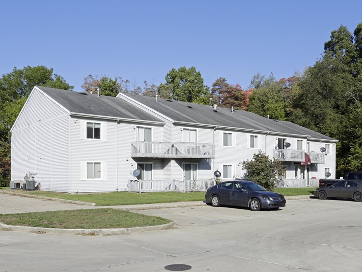 Off Street Parking Facility at Walnut Trails Apartments, Elkhart, IN, 46514