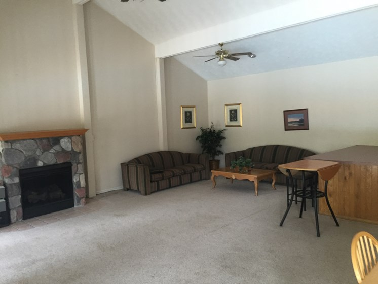 Community Clubhouse at Walnut Trails Apartments, Elkhart