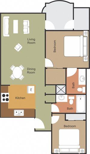 Cholla Floorplan