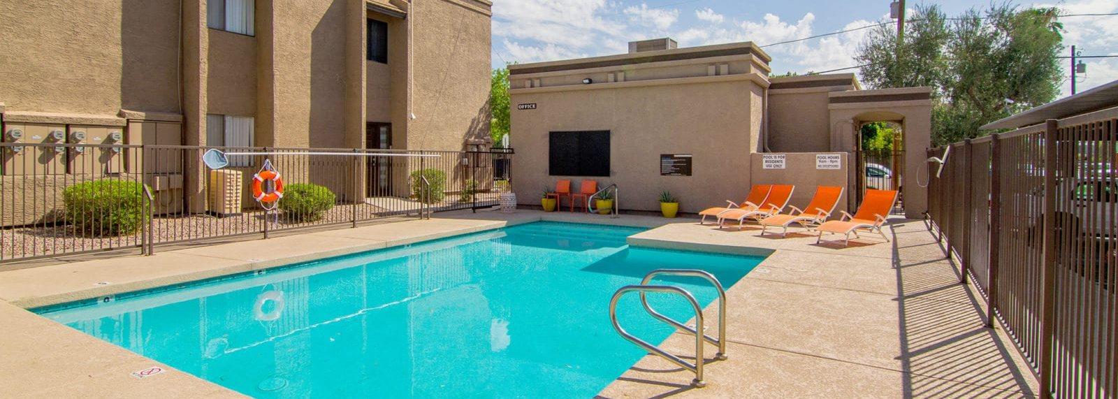 Solano Park Apartments Pool
