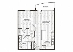 Fremont Floor Plan at The Sur, Virginia