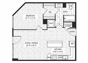 Madrone Floor Plan at The Sur, Arlington, Virginia