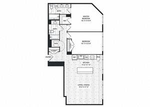 Ponderosa-Optimized Floor Plan at The Sur, Virginia