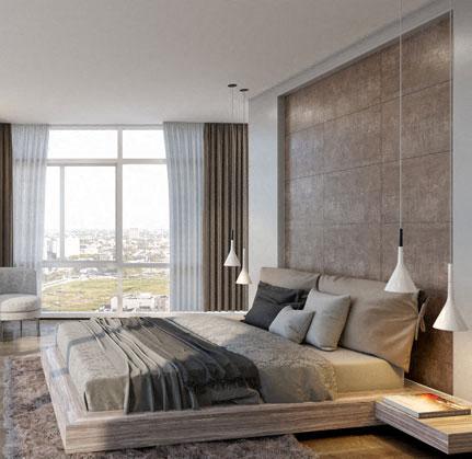 Gorgeous Bedroom at The Sur, Arlington
