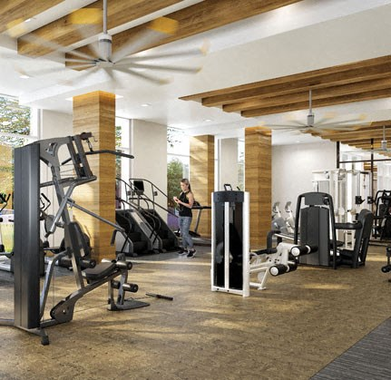 Fully Equipped Fitness Center at The Sur, Arlington, VA, 22202