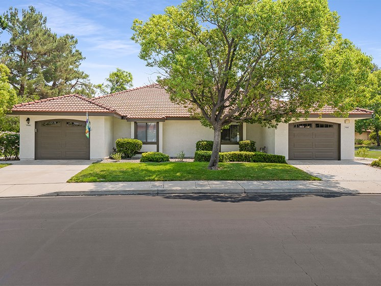 Houses With Attached Garage And Patio at Westmont Village, Riverside