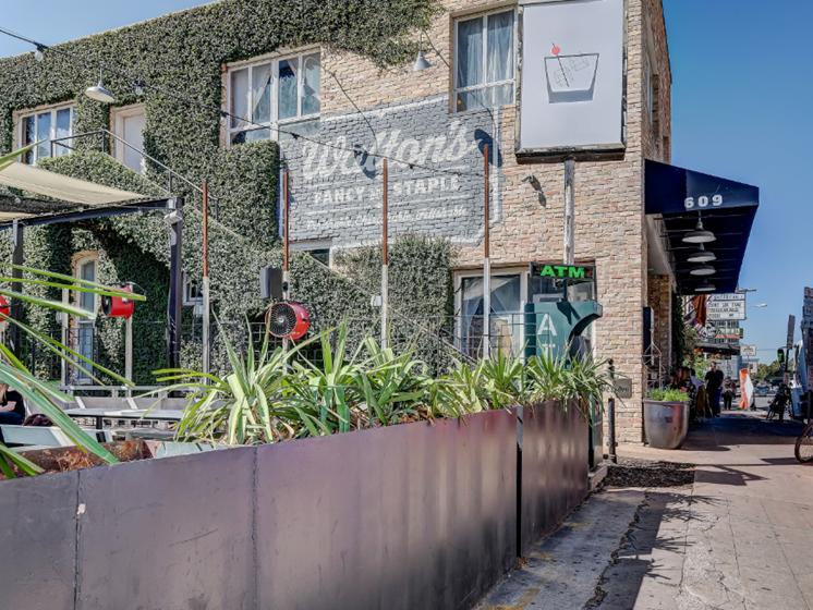 Walking distance retail - Walton's street view