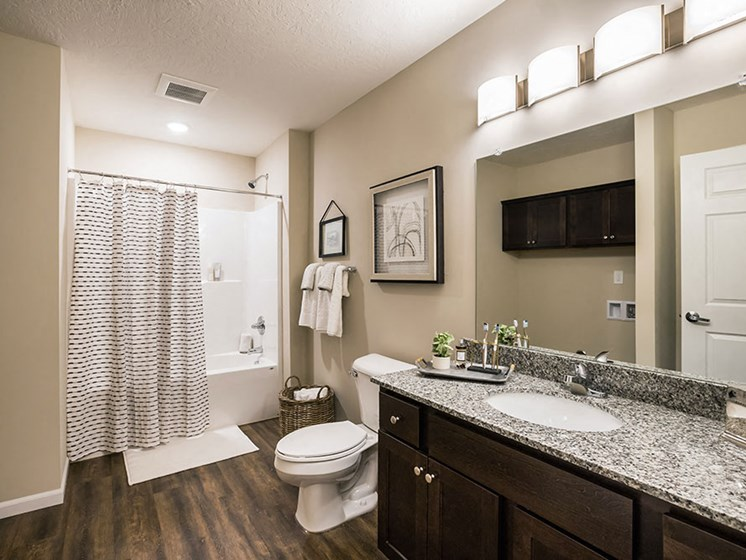 Miami Township OH Apartment Rentals Redwood Miami Township Bathroom One