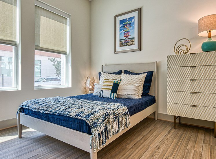 Axis at PTC Apartments bedroom