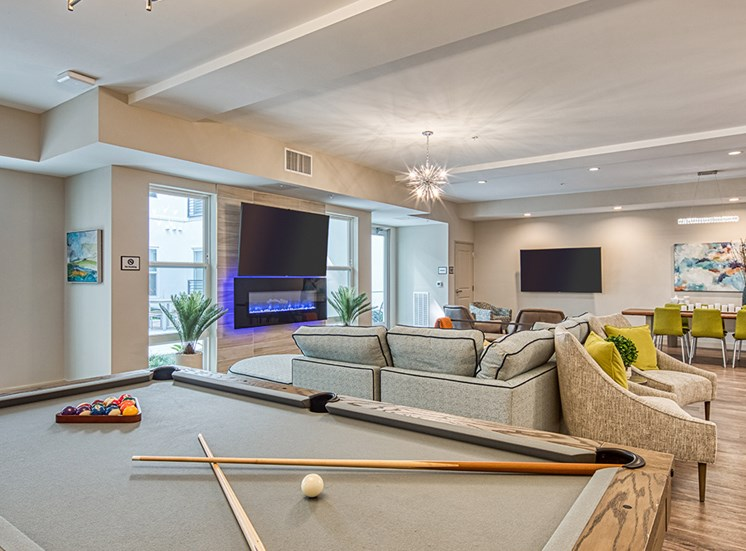 Axis at PTC Apartments Pool Table