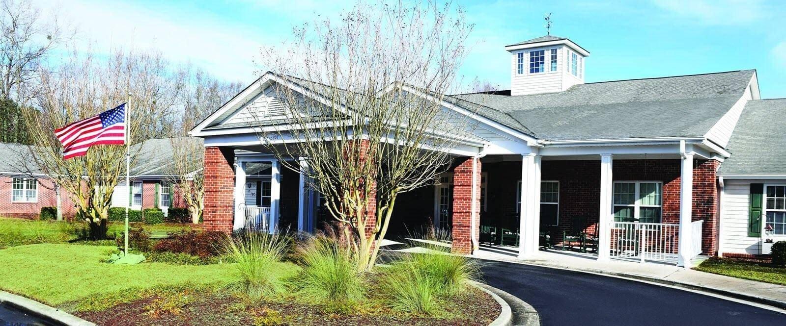 Main Entrance To Property at Spring Arbor of Kinston, Kinston, NC, 28504
