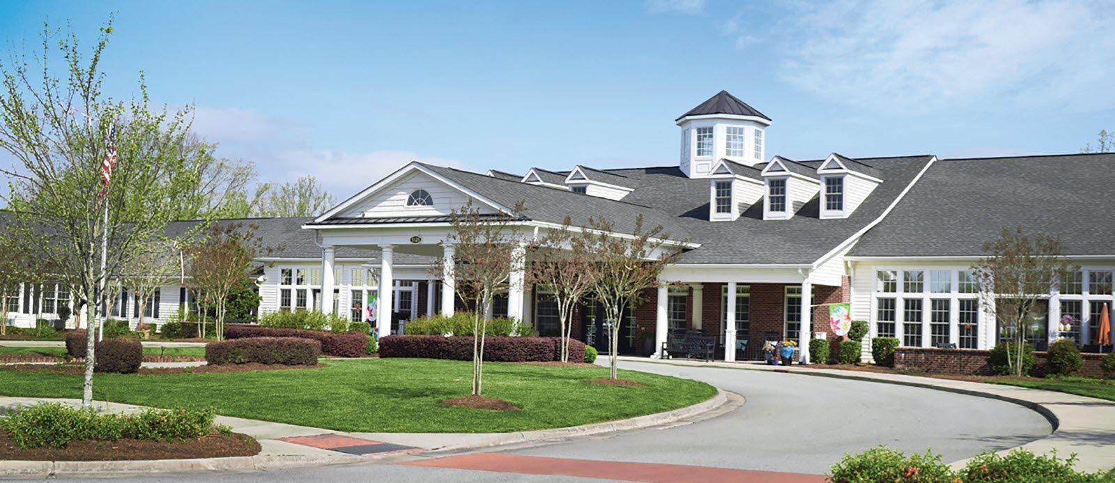 Community Exterior at Spring Arbor Senior Living, Spring Arbor of Greensboro, North Carolina