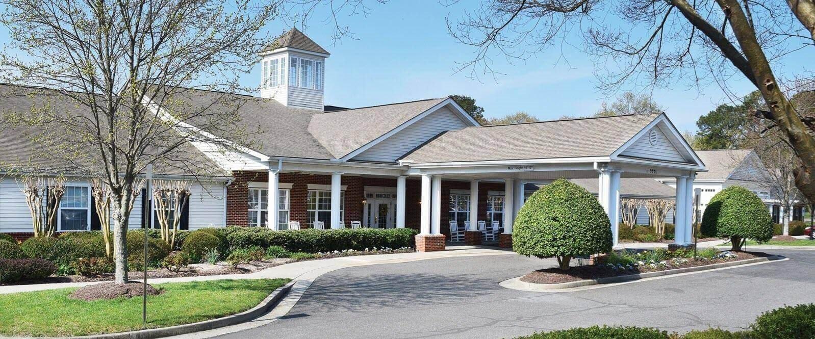 Elegant Exterior View Of Property at Spring Arbor of Richmond, Henrico, VA, 23233