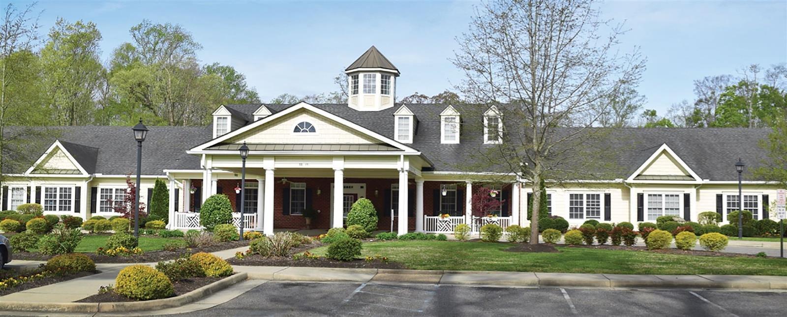 Elegant Exterior View Of Property at Spring Arbor of Williamsburg, Williamsburg, VA, 23185