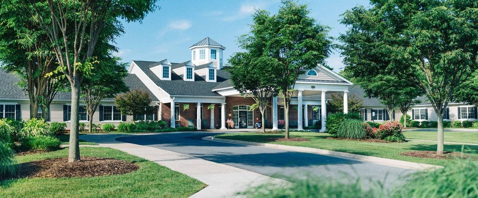 Elegant Exterior View Of Property at Spring Arbor of Winchester, Winchester, VA, 22603