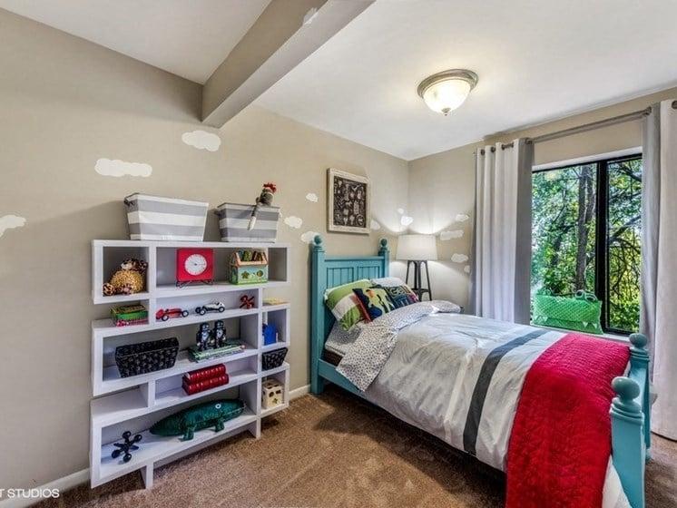 Extra Storage Space In Bedroom at Brookland Ridge Apartments, Washington, DC