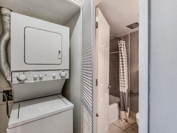Full Size Washer/Dryer in Every Apartment Home at Brookland Ridge Apartments, Washington, DC