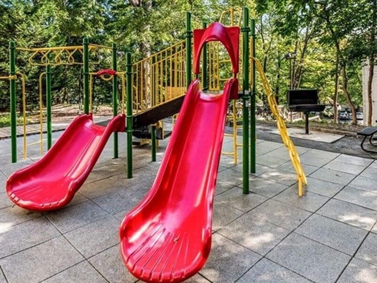 On Site Children'S Playground at Brookland Ridge Apartments, Washington, 20017