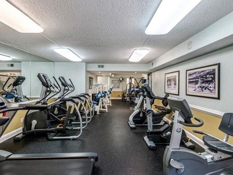 State-Of-The-Art Gym And Spin Studio at Brookland Ridge Apartments, Washington, Washington