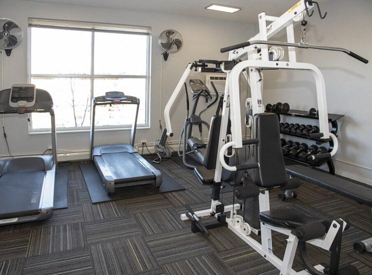 Gaar Scott Lofts Fitness Room
