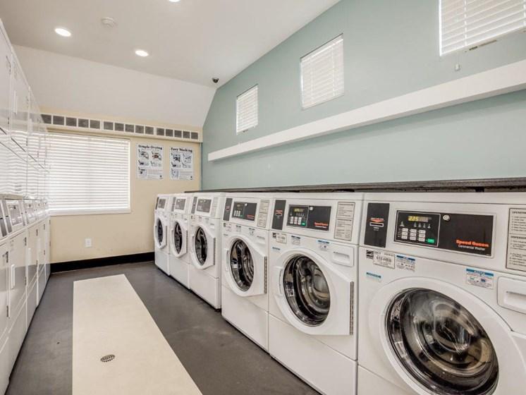 Onsite laundry room