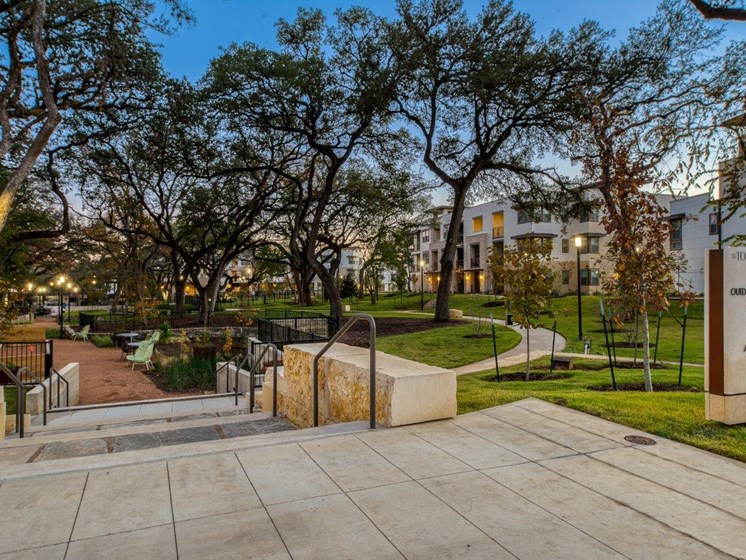 Dusk Courtyard