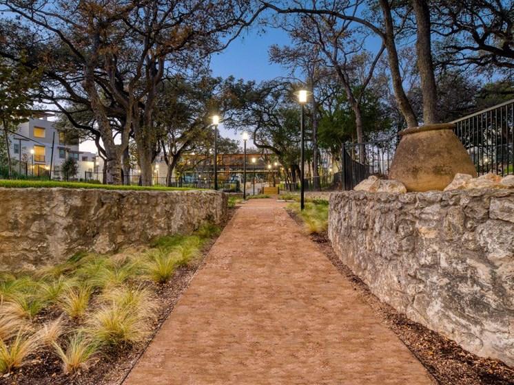 Dusk Walkway