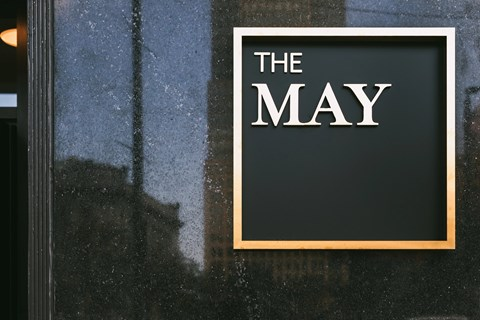 Exterior-Signage at The May, Ohio