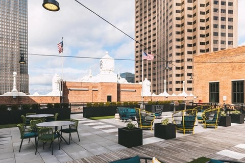 Rooftop Lounge at The May, Ohio, 44114