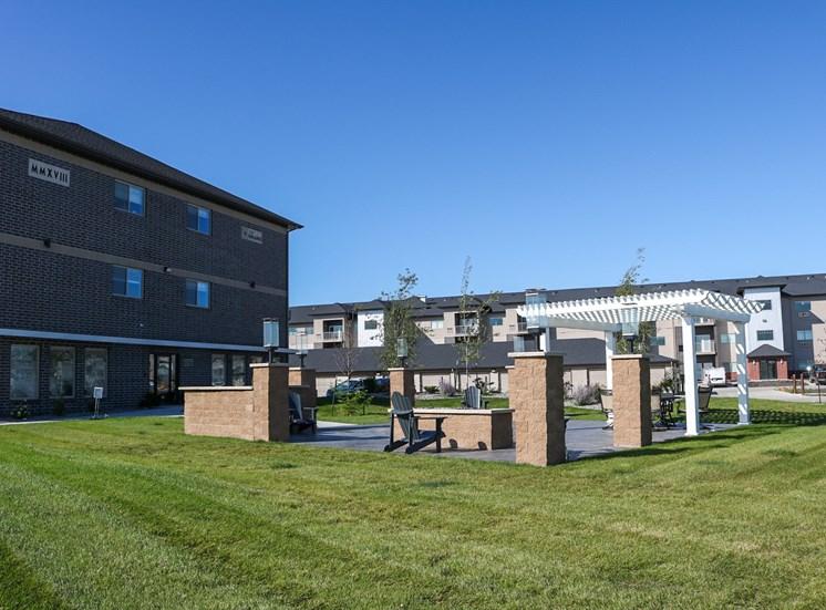 image of community patio