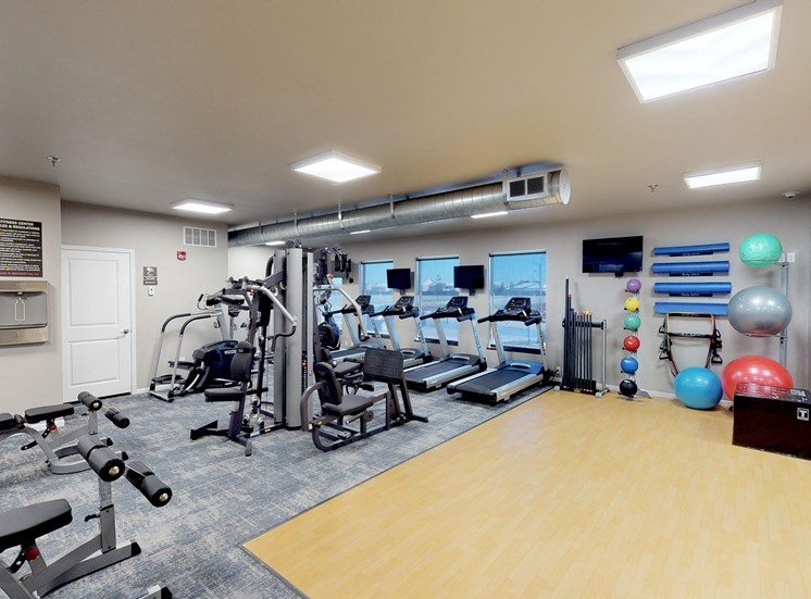 image of fitness center