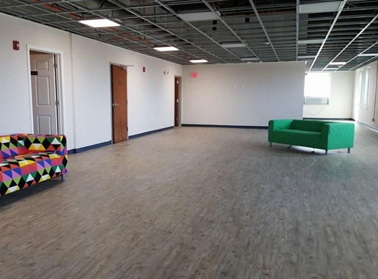 large 12th floor studio at Hoffman Hotel apartments