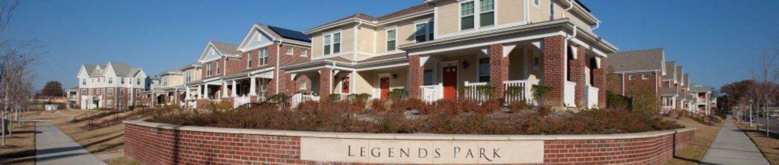 Apartment building and property signage-Legends Park Apartments, Memphis, TN