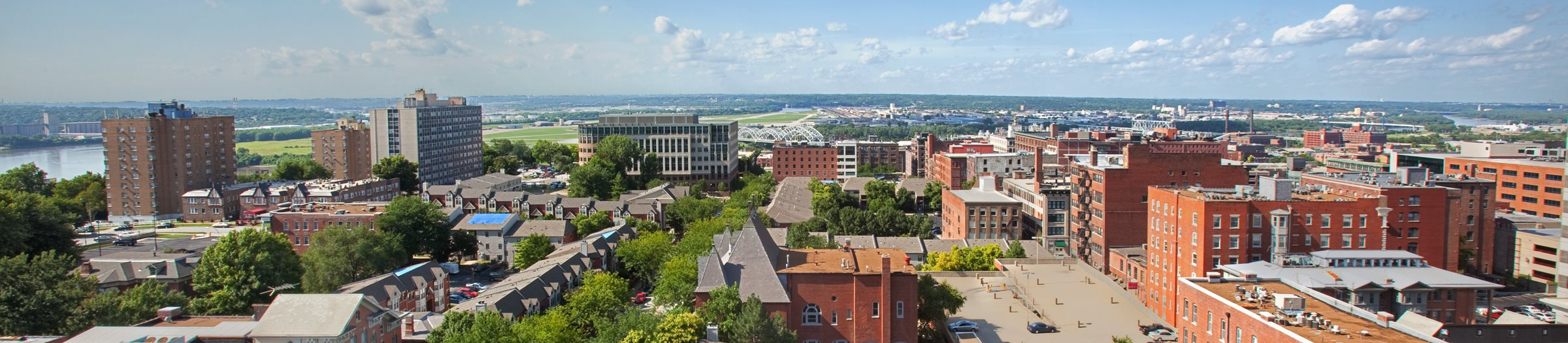 Aerial view of Quality Hill Square-Quality Hill Square, Kansas City, MO