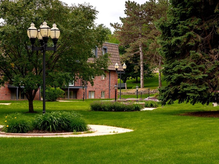 Beautiful grounds and courtyards