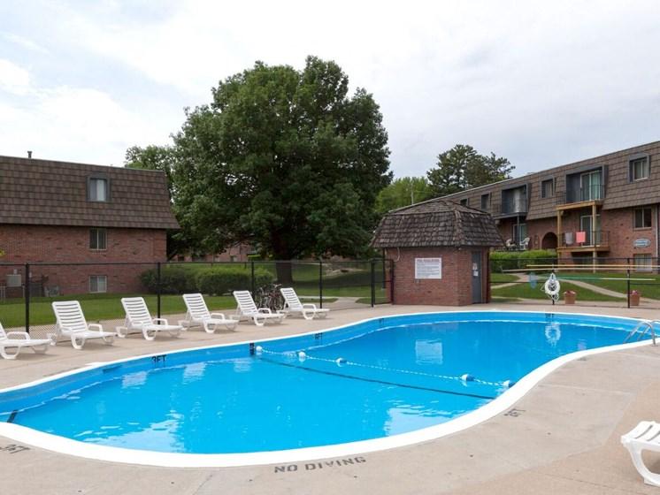 Villa Vinee Apartment Pool