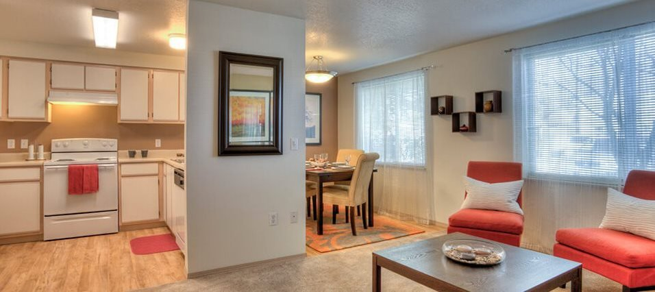 The Crossings living area