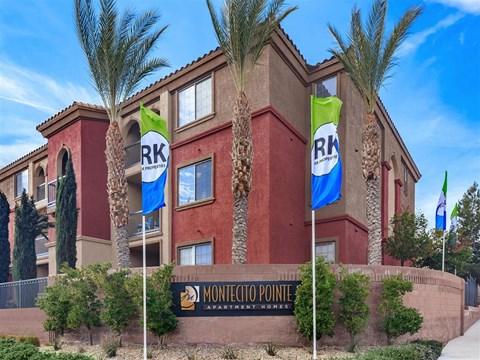 Elegant Exterior View Of Montecito Pointe in Las Vegas Apartment Homes