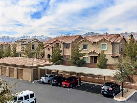 Reserved Montecito Pointe Resident Parking in Las Vegas, NV Rental Homes