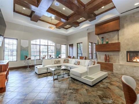 Posh Montecito Pointe Resident Lounge in Las Vegas Apartment Rentals