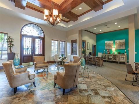 High Ceiling Montecito Pointe Lounge Area in Las Vegas Rentals
