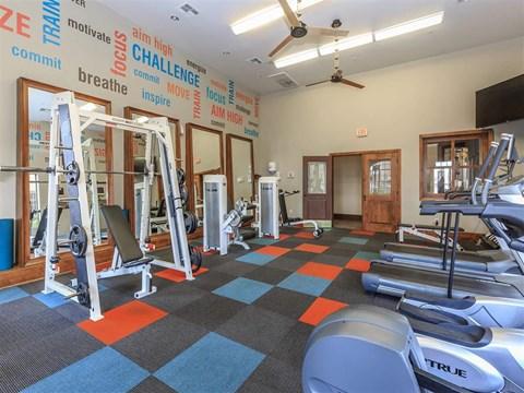 World-Class Montecito Pointe Fitness Center in Nevada Apartments