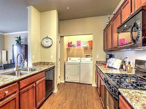 Efficient Appliances In Montecito Pointe Kitchen in Nevada Apartments for Rent