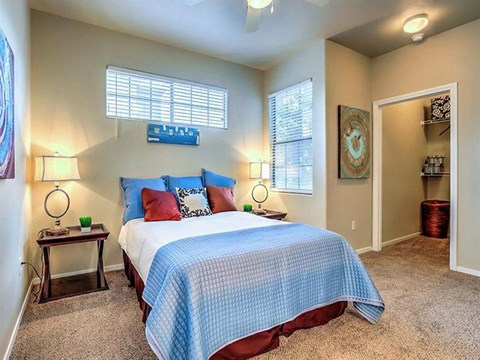 Large Montecito Pointe Bedroom in Las Vegas, NV Apartment Homes
