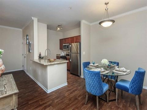 Classic Montecito Pointe Dining Area in Las Vegas, NV Apartment Homes