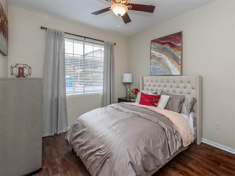 Spacious Montecito Pointe Bedroom With Comfortable Bed in Las Vegas, Nevada Apartment Homes for Rent