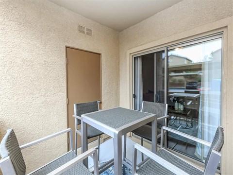 Outdoor Montecito Pointe Patio in Las Vegas, NV Rental Homes